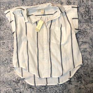 Super Soft Striped Collared Shirt